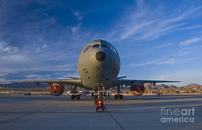 Kc-10 At Sunset Poster