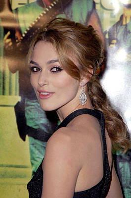 Keira Knightley At Arrivals For Domino Poster by Everett