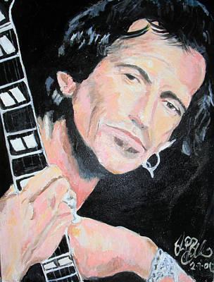 Keith Richards  Poster by Jon Baldwin  Art