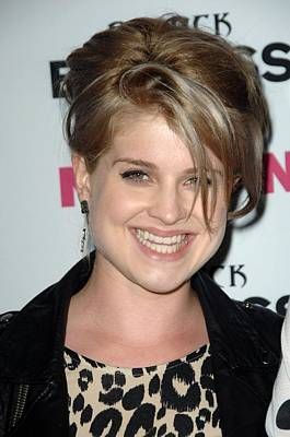 Kelly Osbourne At Arrivals For Nylon + Poster by Everett