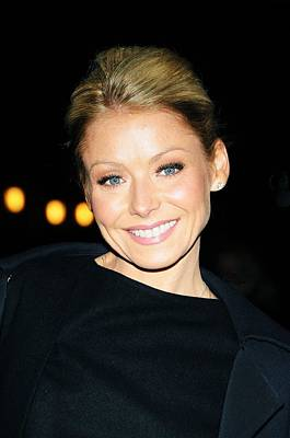 Kelly Ripa At Talk Show Appearance Poster by Everett