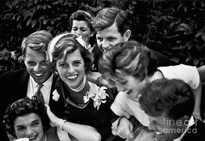 Kennedy Wedding, 1953 Poster