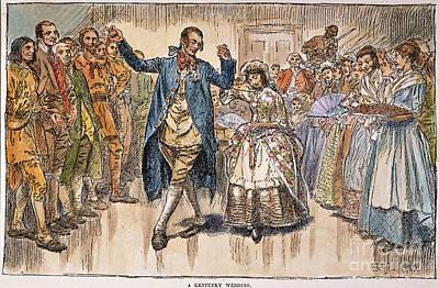 Kentucky: Colonial Wedding Poster