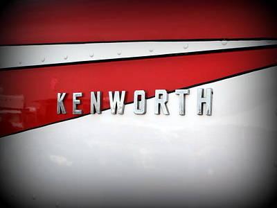 Kenworth Truck Logo Poster by Karyn Robinson
