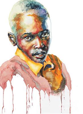 Kenya Blue Poster