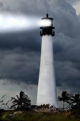 Key Biscayne Lighthouse Poster