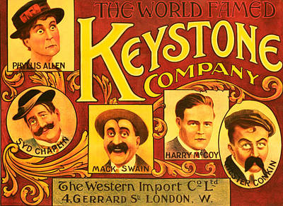 Keystone Film Company, Promotional Poster by Everett