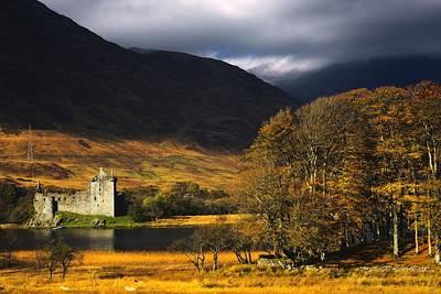 Kilchurn Castle, Scotland Poster by John Short