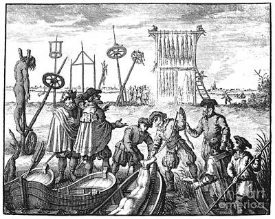 Killing Of Anabaptists Poster by Granger