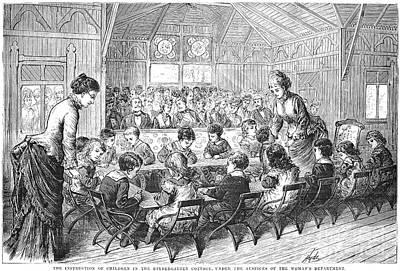 Kindergarten, 1876 Poster by Granger