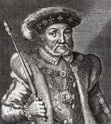 King Henry Viii Of England Poster