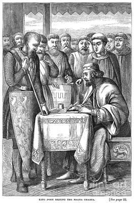 King John (1167-1216) Poster by Granger