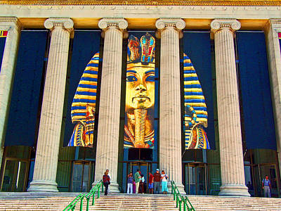 King Tut In Chicago Poster by Michael Durst