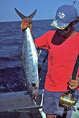 Kingfish Up Poster