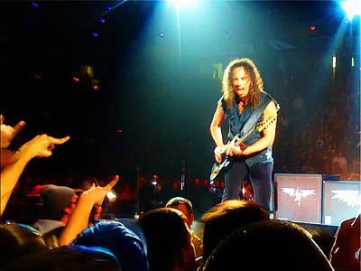 Kirk Hammett Of Metallica Poster