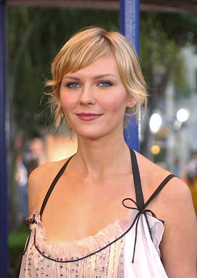 Kirsten Dunst At The Premiere Poster by Everett
