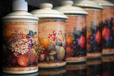 Kitchen Canister Art Poster
