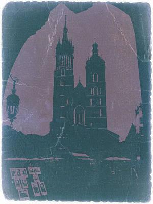 Krakow Poster by Naxart Studio
