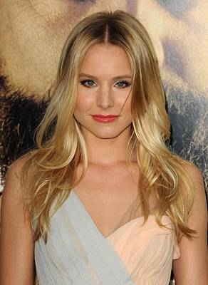 Kristen Bell At Arrivals For The Poster by Everett