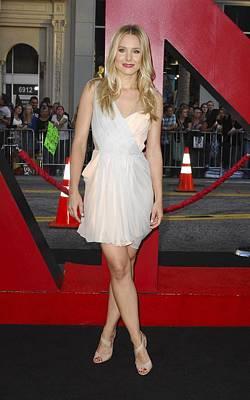 Kristen Bell Wearing A Dress By J Poster