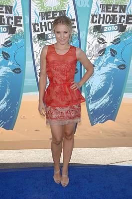 Kristen Bell Wearing A Stella Mccartney Poster