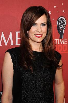 Kristen Wiig At Arrivals For Time 100 Poster by Everett