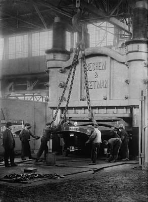 Krupps Essen, Germany, Steelworks Poster