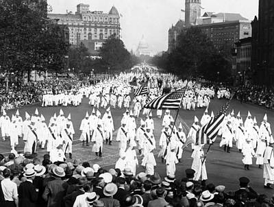 Ku Klux Klan 2nd Public Congress Poster
