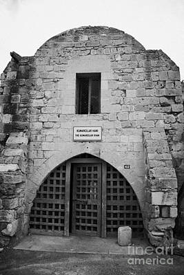 Kumarcilar Han The Gamblers Inn In Nicosia Trnc Turkish Republic Of Northern Cyprus Poster