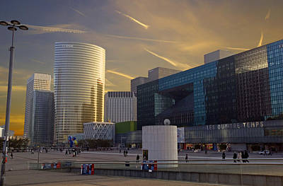Poster featuring the photograph La Defense by Rod Jones