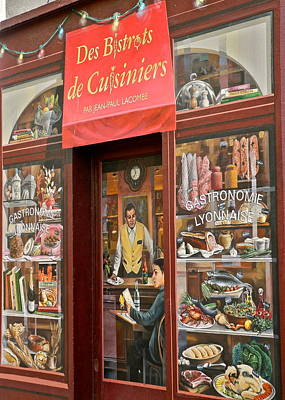 La Fresque Des Lyonnais V  Poster by Kirsten Giving