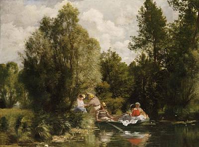 La Mare Aux Fees Poster by Pierre Auguste Renoir