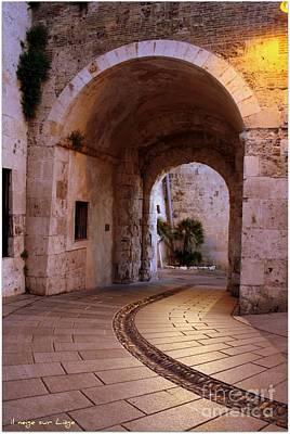 La Porta Dei Leoni Cagliari Poster