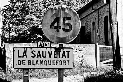 La Sauvetat Poster by Georgia Fowler