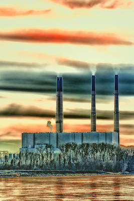 Labadie Power Plant Poster