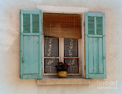 Lace In The Window Poster by Lainie Wrightson