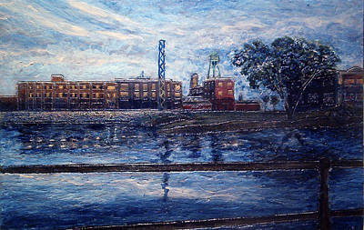 Lachine Canal At Dusk Poster by Jonathan E Raddatz