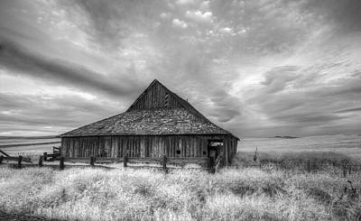Lack Luster Barn Poster by Jean Noren