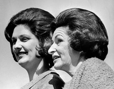 Lady Bird Johnson, The First Lady Poster by Everett