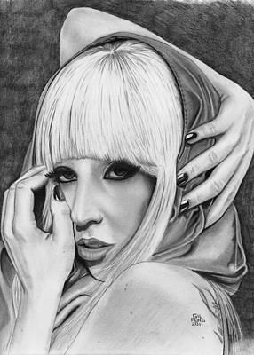 Lady Gaga Poster by Gil Fong