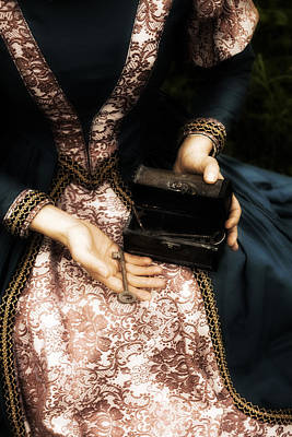 Lady With Keys Poster by Joana Kruse