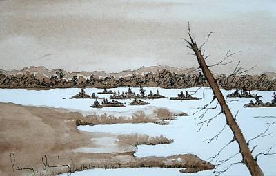 Lagoon On Madeline Island Poster