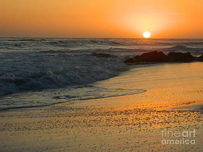 Poster featuring the photograph Laguna Sunset by Everette McMahan jr