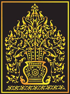 Lai Thai Tree Poster by Sirichai Manmoh