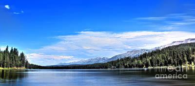 Lake Alva Poster by Janie Johnson