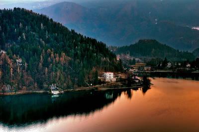 Lake Bled. Slovenia Poster by Juan Carlos Ferro Duque