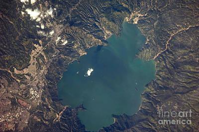 Lake Ilopango, El Salvador Poster by NASA/Science Source