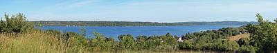 Lake Leelanau Panorama Poster by Twenty Two North Photography