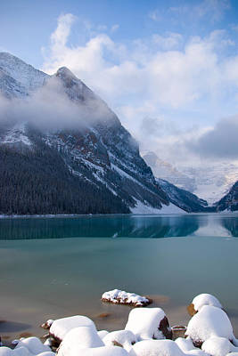 Lake Louise  Canada Poster by Serene Maisey