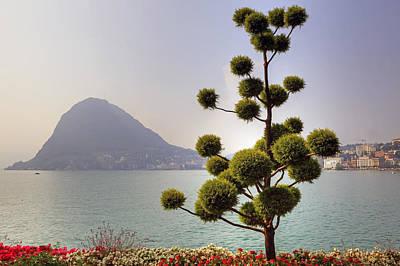 Lake Lugano - Monte Salvatore Poster